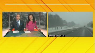 Blast of winter impacts travel