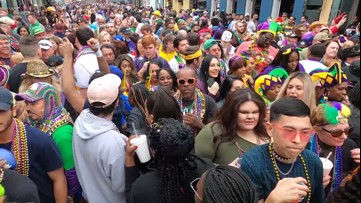 Weather didn't damper carnival season in New Orleans
