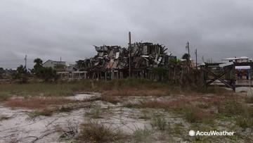 Battered city in danger of even more damage