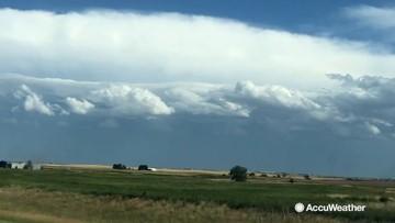 Building storms encroach on Colorado