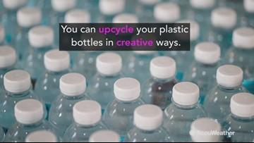 3 creative ways to upcycle plastic bottles