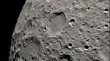 Apollo 13's journey to the far side of the moon