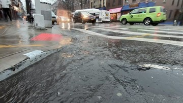 Wicked downpour leaves residents soaked