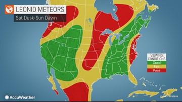 November's best meteor shower will peak this weekend