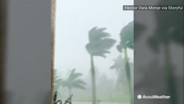 Relentless downpour follows touch down of tornado