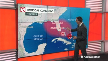 New tropical system could emerge in the Atlantic