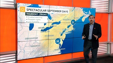 Warming in the East through the weekend, tropics on fire