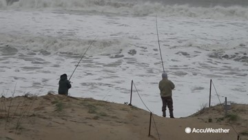 Nor'easter continues to hammer Outer Banks