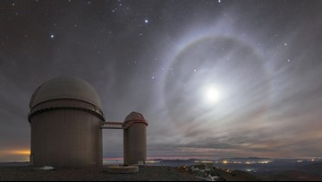 Angelic 22-Degree Halo Spotted in Chilean Desert Sky