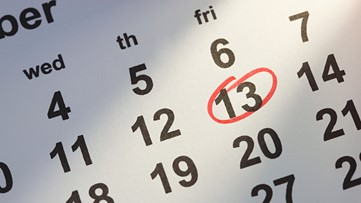 This Friday the 13th is Exactly 13 Weeks After the Last One