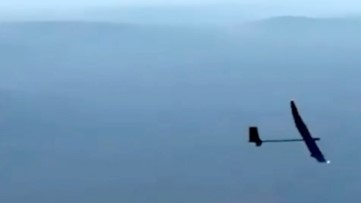 Solar Powered UAV Can Stay in the Air for a Year