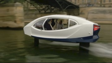 Watershed Moment! Company Tests Out Pollution-Free 'Water Taxi' in Paris