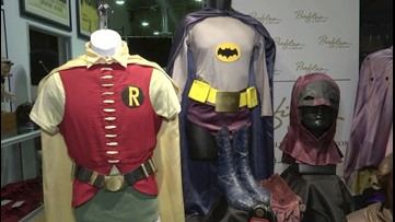 Holy Auction, Batman! Complete '60s Batman & Robin Costumes Among Classic TV Items Up for Grabs