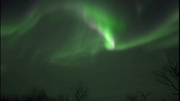 Light Show! Colorful Auroras Paint the Arctic Sky in Mesmerizing Video