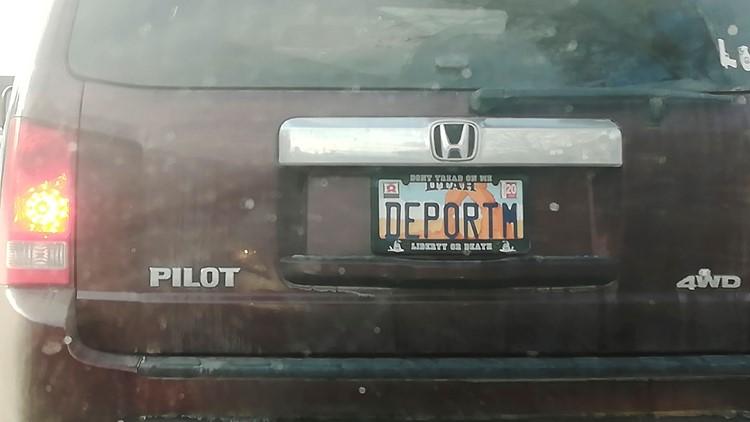 Offensive License Plate Utah