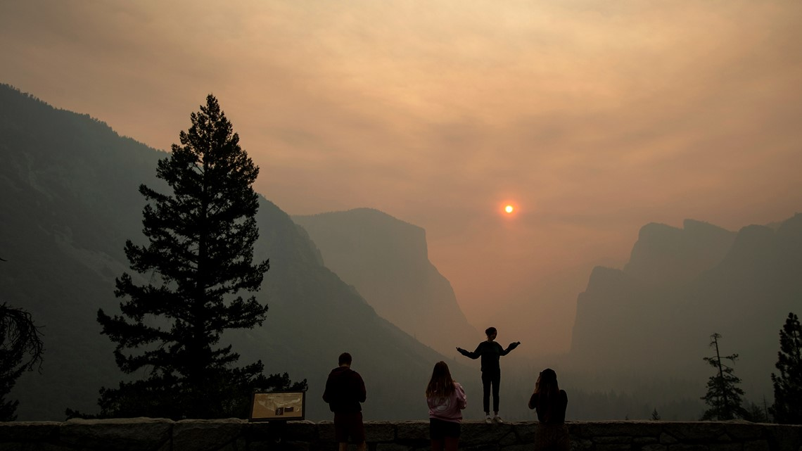 Wildfires and smoke snuff out outdoor adventures across US