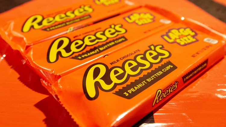 Reese's Peanut Butter Cups are America's favorite Halloween candy, poll shows