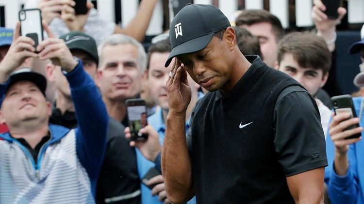Tiger Woods misses cut at PGA Championship