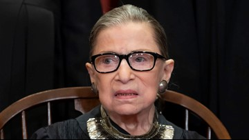 Justice Ruth Bader Ginsburg treated for malignant tumor on pancreas