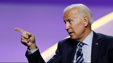 Biden on Sanders' aggressive supporters: 'I'd disown them'
