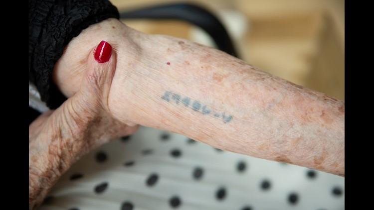 Agi Geva Auschwitz identification number