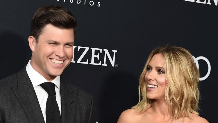 Scarlett Johansson and Colin Jost engaged