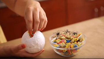 How to make Halloween eyeball treats