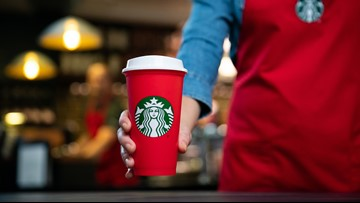 Starbucks holiday cups, new pastries to hit stores Friday
