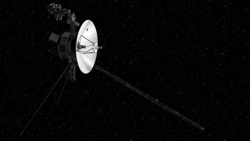 Voyager 2 reaches interstellar space, joining Voyager 1