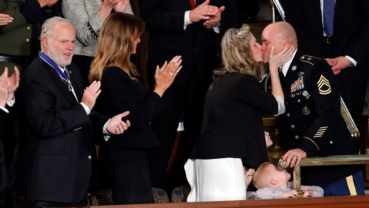 Family surprised by military homecoming during State of the Union speech