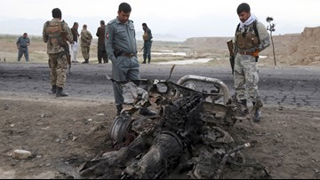 US forces: 3 Marines killed, Afghan contractor wounded in Taliban attack