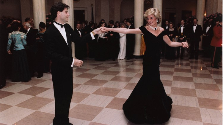 Princess Diana's gown from White House dance with John Travolta up for auction