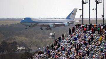 Trump makes historic election-year visit to the Daytona 500