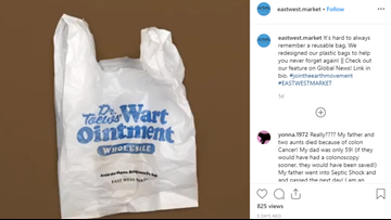 This grocery store gives shoppers the ultimate plastic bag of shame