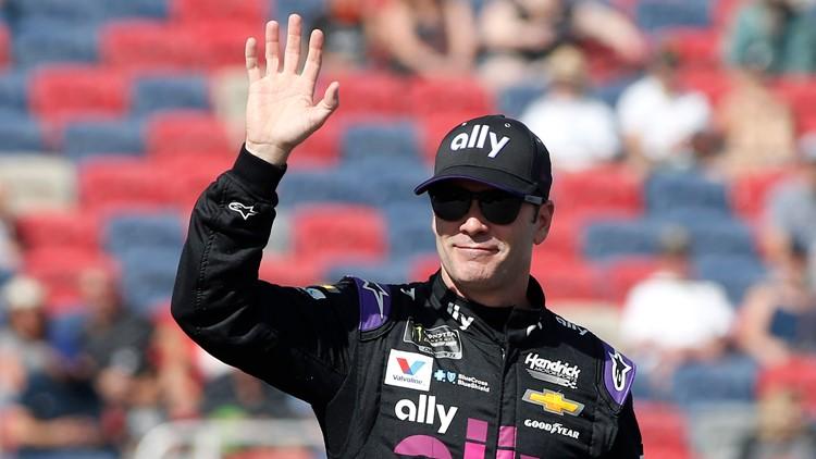 NASCAR Jimmie Johnson AP