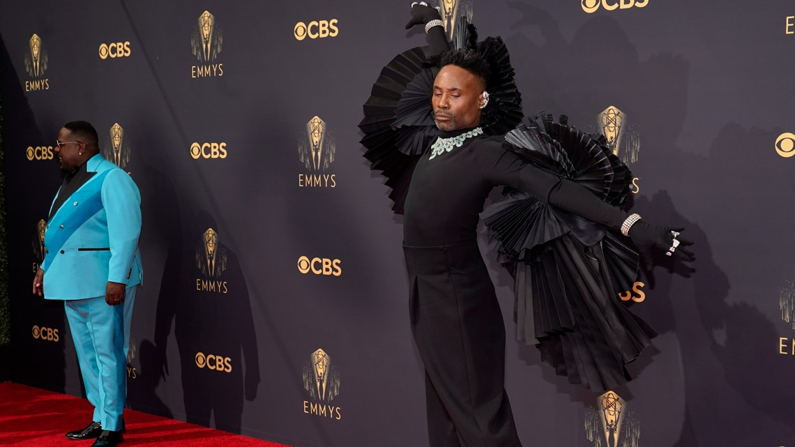 Emmys Red Carpet: Nicole Byer stuns, Billy Porter winged outfit