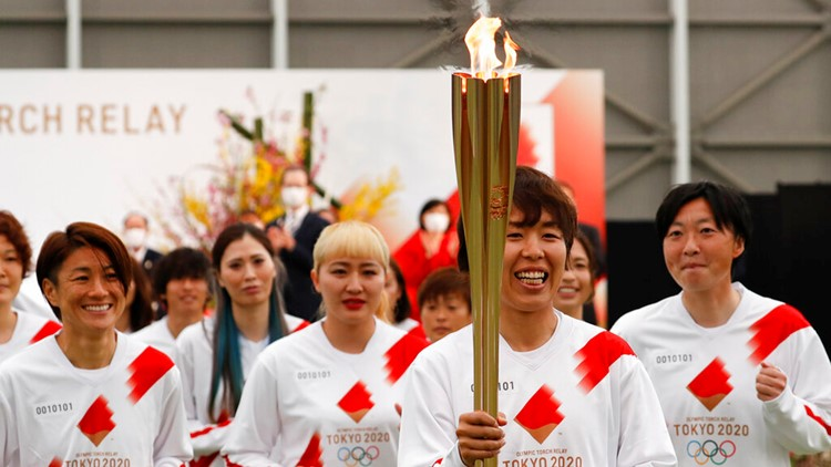 Tokyo Olympics torch relay begins; Games 121 days away