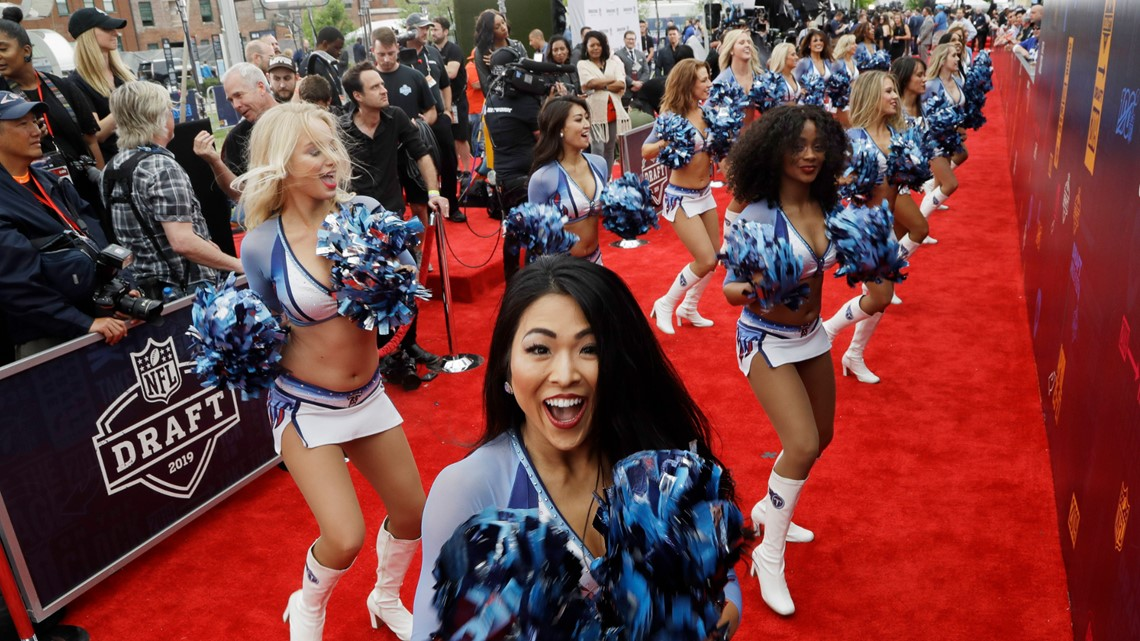 PHOTOS: NFL Draft Day 1 in Nashville | firstcoastnews com