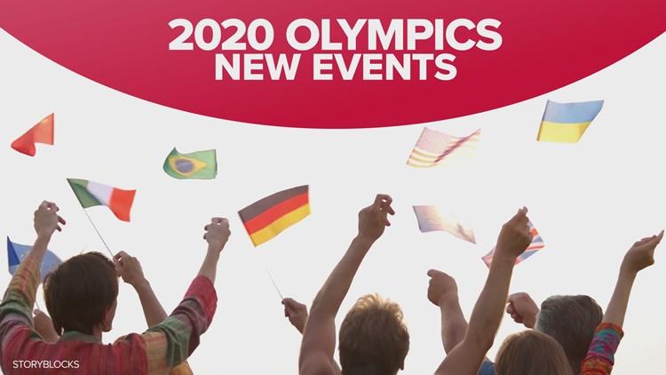 Tokyo Olympics new sports