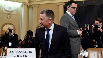 Tuesday's impeachment hearing closes after Volker, Morrison testimony