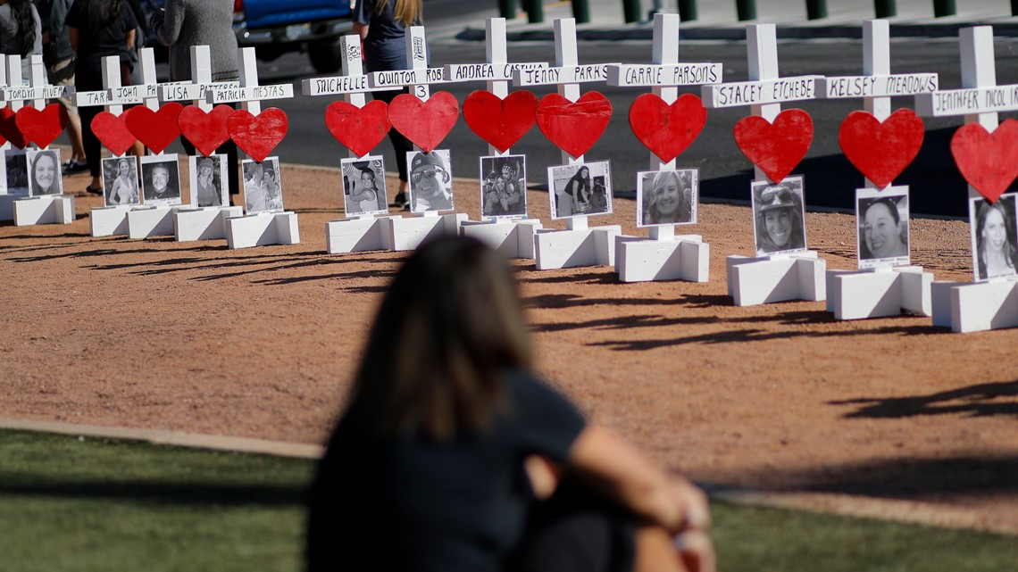 Las Vegas Massacre Anniversary Sparks Debate On Gun Control Firstcoastnews Com