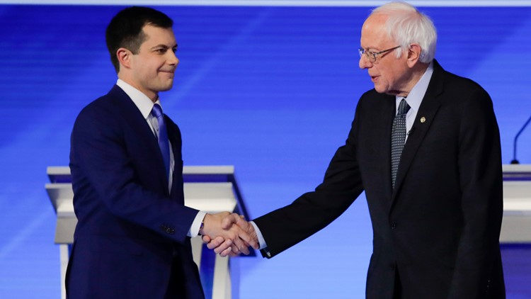 Sanders Buttigieg Election 2020 Debate