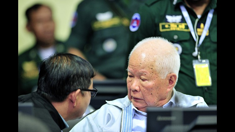 Last Khmer Rouge leaders guilty of genocide, get life terms