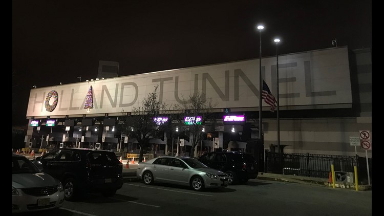 Holland Tunnel 'unsightly' wreaths moved after public complaints