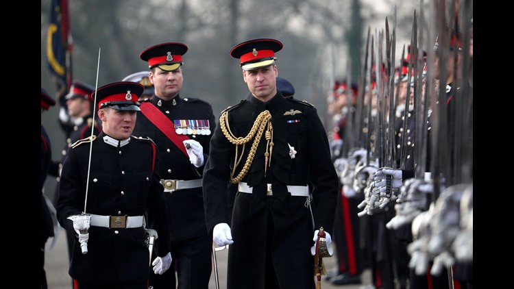 Prince William visits Royal Military Academy, addresses cadets: 'I stood where you are'