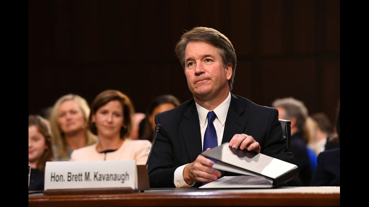 Trump dismisses Kavanaugh accuser as 'drunk'