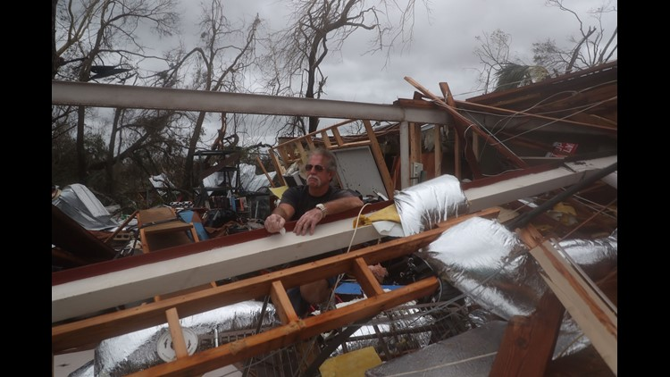 Hurricane Michael weakened to tropical storm Thursday but remained a menace across the Southeast after tearing a path of devastation through Florida.