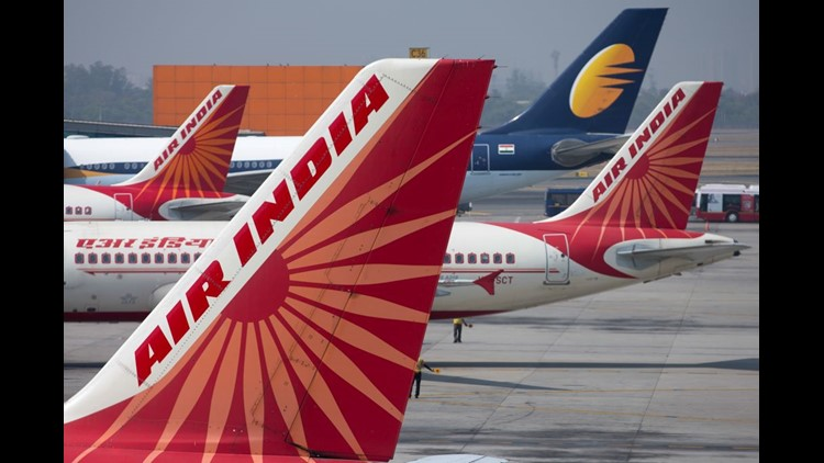 An Air India Boeing 737 aircraft (Flight IX 611), whichwas carrying 130 passengers and six crew members, hit a wall during takeoff but landed safely.