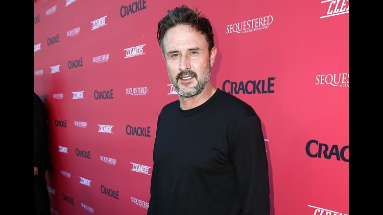 Actor David Arquette bloodied up in 'Death Match' during return to wrestling