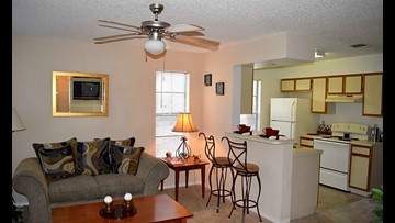 What will $900 get you? Apartments for rent in Jacksonville